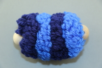 Blue Large Pull Puff