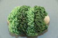 Green Large Pull Puff