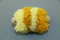 Yellow Large Pull Puff
