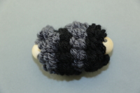 Black Mini Pull Puff