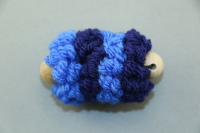 Blue Mini Pull Puff