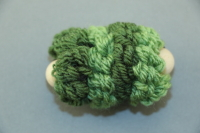 Green Mini Pull Puff