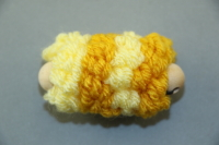 Yellow Mini Pull Puff