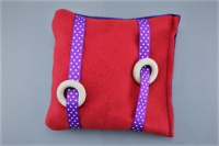 Shape Shifter Pillow Red/Purple